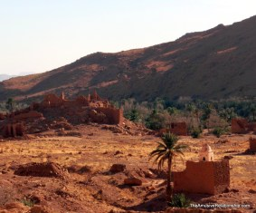 An old ksar (fortified city) and adjoining mosque