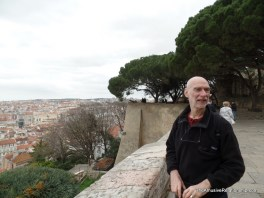 Norman at the walls of São Jorge Castle