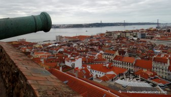 The view from São Jorge Castle