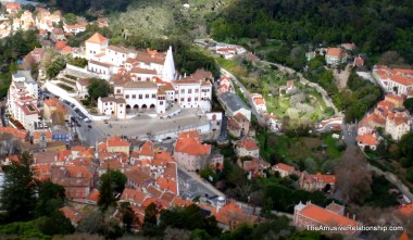Downtown Sintra and the National Palace