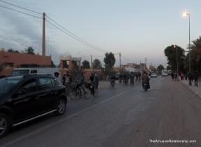 Bicycle rush hour