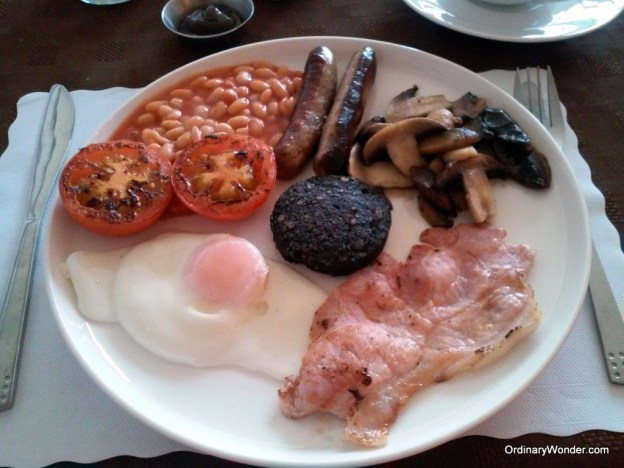 A lovely English breakfast