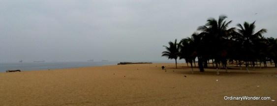 Beaches along the peninsula