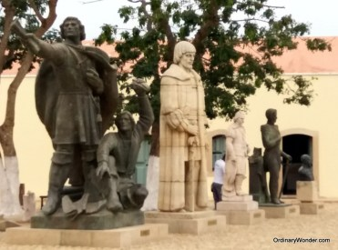 Statues from Portuguese colonialism