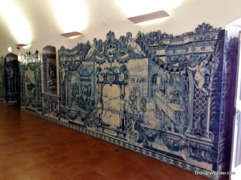 Beautiful tile murals