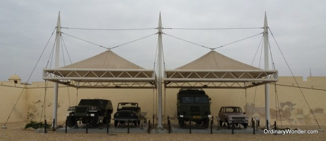 Vehicles from the war