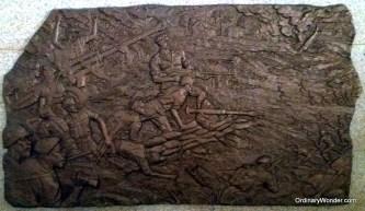 Wooden friezes