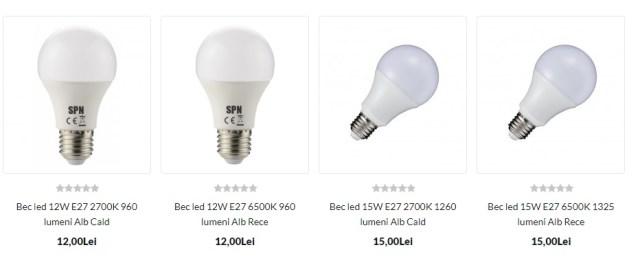 becuri tip LED