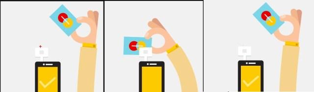 colaj shopping online de pe telefon cu plata de pe card