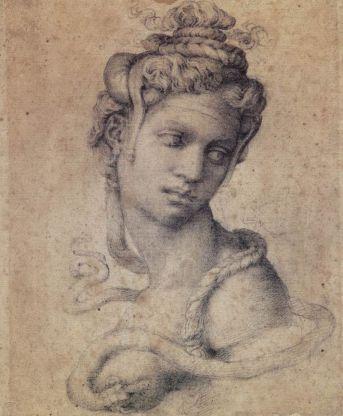 Cleopatra, opera realizata de Michelangelo