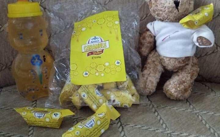 Imunizare de toamna- caramele si miere de la Apidava