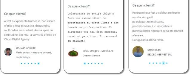 marturi clienti Bigg.ro