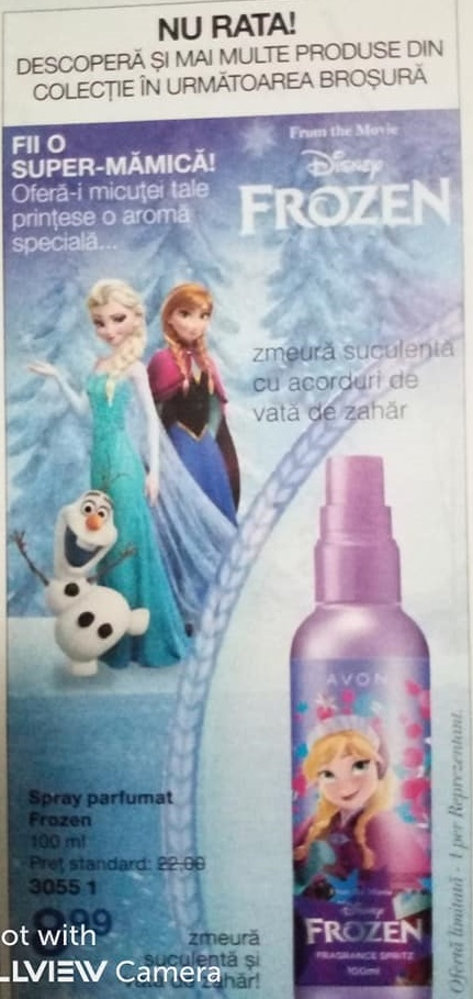 spray frozen