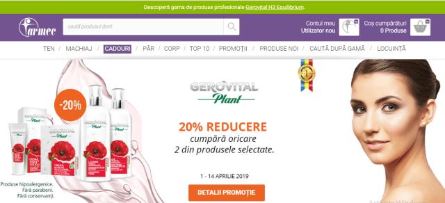 oferta gerovital plant
