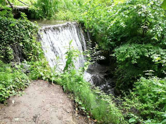 cascada in ecoparc