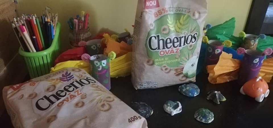 Am testat cerealele cu ovaz Cheerios