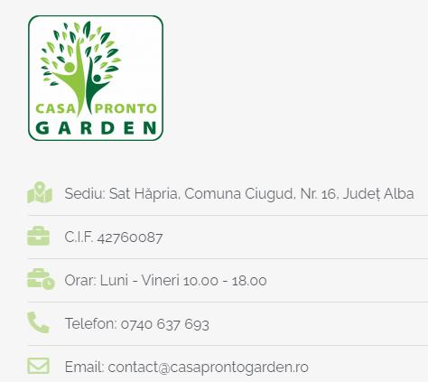 contact casa pronto garden
