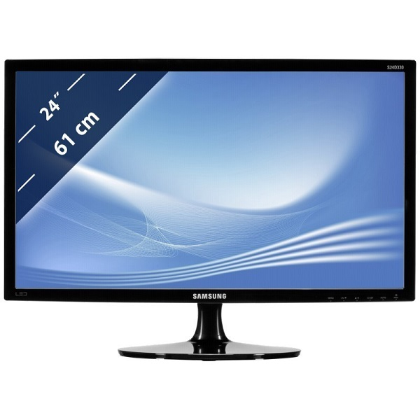 Le moniteur LED Samsung S24D330H vous accompagne au quotidien pour le travail et le loisir. Il vous propose une résolution Full HD ainsi qu'un mode Gaming avec une réponse rapide de 2ms.
