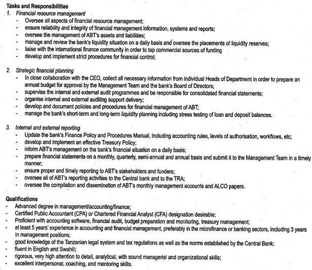 Job Description Of Financial Manager Ordnur