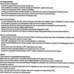 job description of financial manager