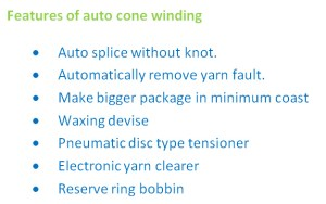 overview of modern auto cone winding machine