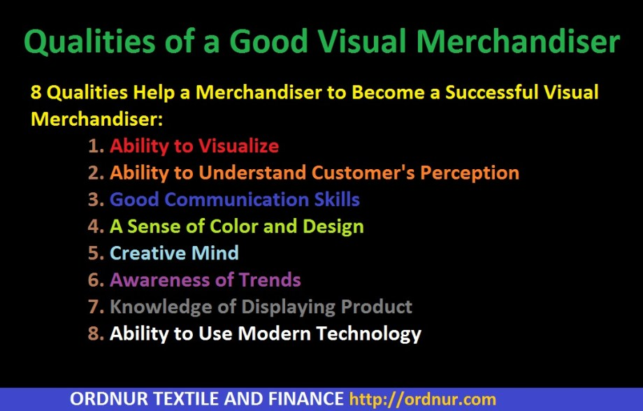 Qualities of a Good Visual Merchandiser