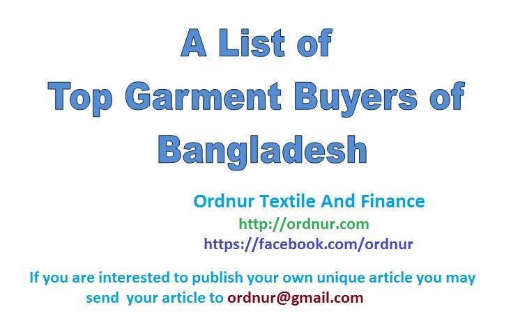 Top Garment Buyers of Bangladesh