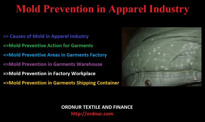 Mold Prevention in Apparel Industry
