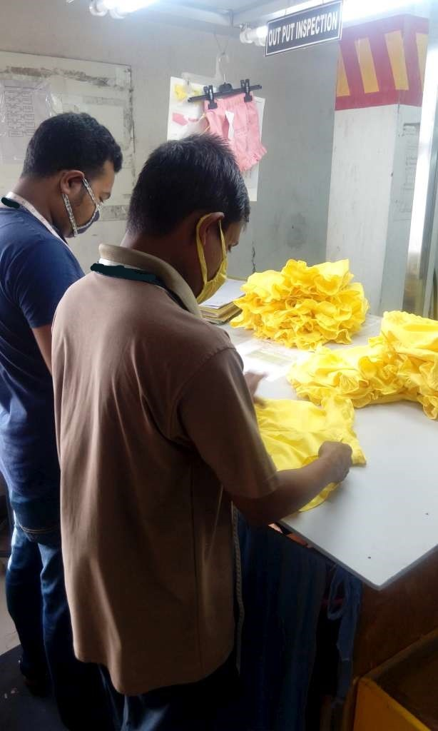 Garments Defects Inspection
