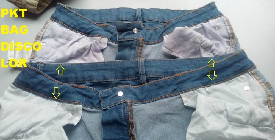 Garments Discoloration
