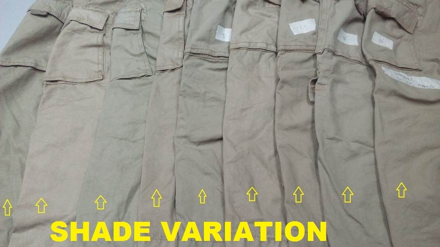 Shade Variation Defects