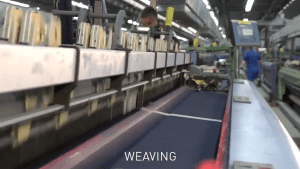Weaving of Jeans