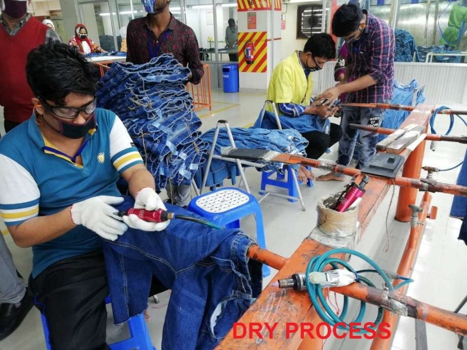 Best Practice of Garments Washing Factory Commonly Used