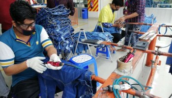 Best Practice of Garments Washing Factory
