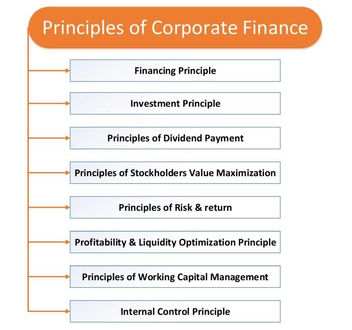 8 Principles of Corporate Finance