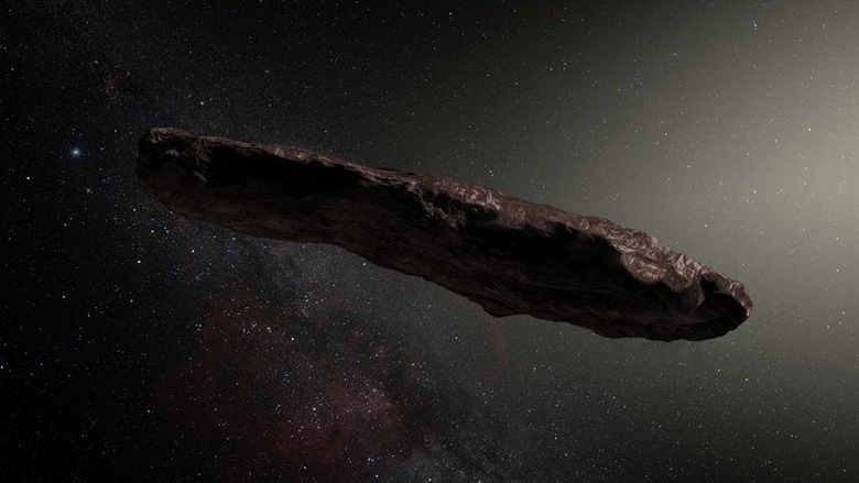 Chinese scientists uncovered the mystery of the alien probe Oumuamua
