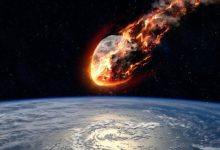 Huge meteorite fell to Earth