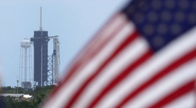 SpaceX ship successfully launched with two Americans to the ISS