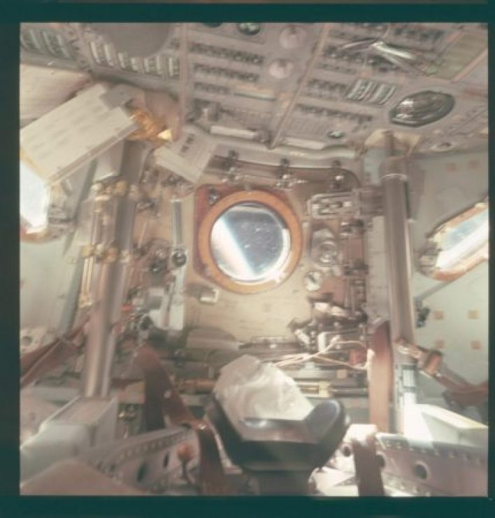 Unseen pictures of the Apollo 15