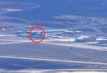 """Photo of Something disappeared from the American """"alien"""" base"""
