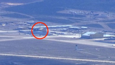 "Photo of Something disappeared from the American ""alien"" base"