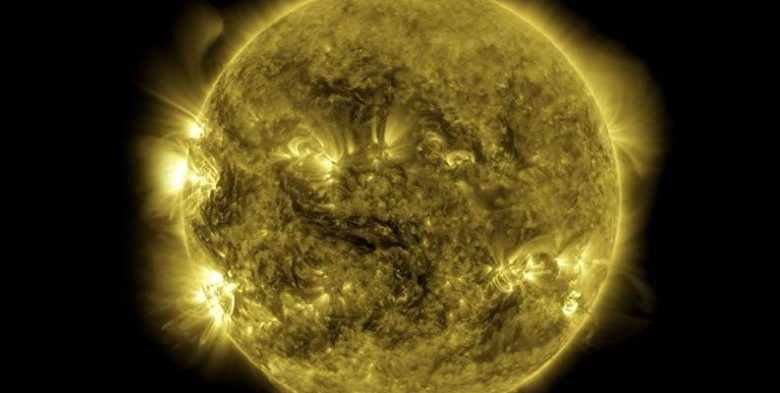 NASA has published a 10 year solar observation cycle