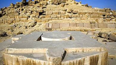 Photo of Stargate of the Egyptian Temple of Abu Gorab