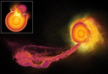 Photo of What happens to the atmosphere when planets collide