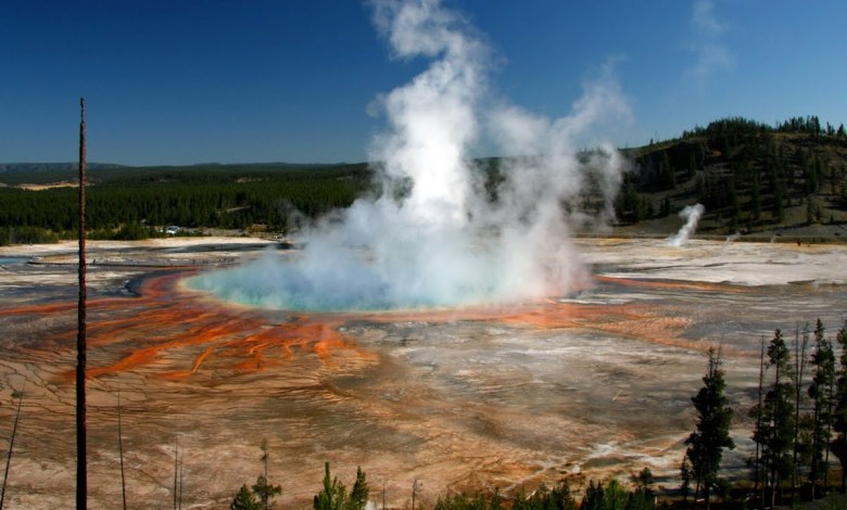 Yellowstones state in June 2020 Steamboat geyser began to erupt more often and the caldera still settles