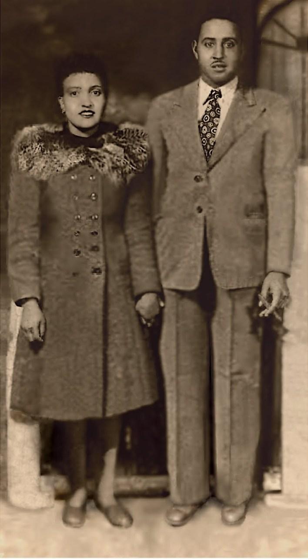 henrietta and david lacks photo restored by karl sherlock Fotor