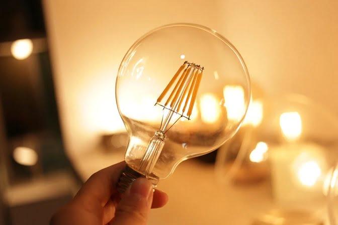 A way to listen from a distance through a light bulb