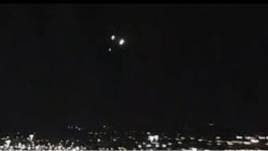 Photo of Group of UFOs hovered in the sky over Las Vegas (VIDEO)