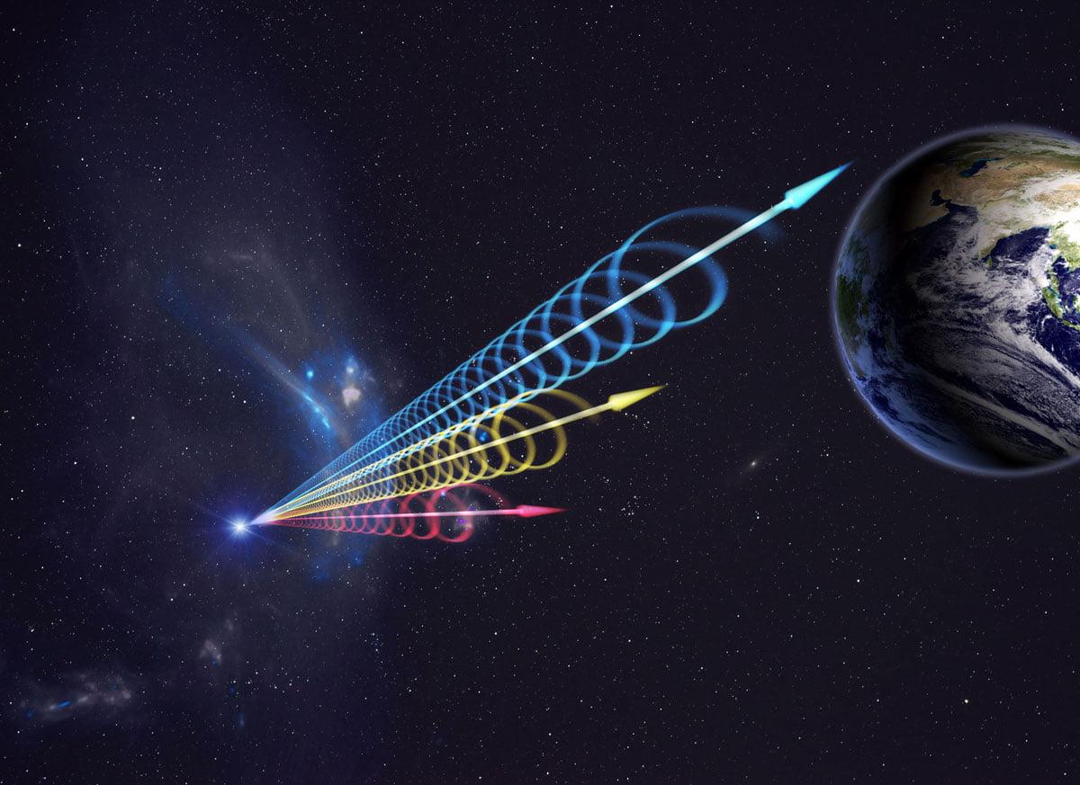 NASA astronaut collides with advanced alien civilization