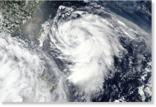 Typhoon Hagupit hits eastern China